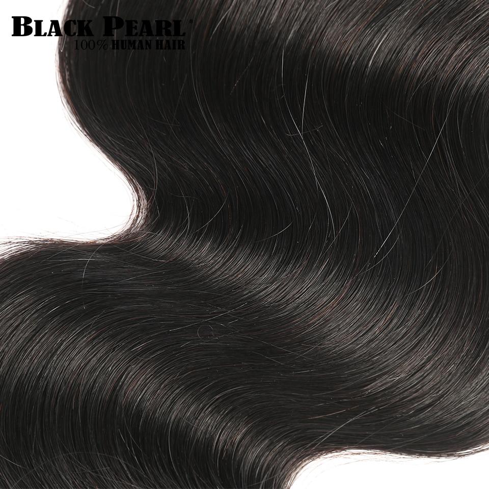 Black Pearl Peruvian Body Wave Hair Extensions 100% Non-Remy Human - Skönhet och hälsa - Foto 5