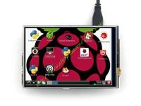 Ücretsiz kargo 4 inç Dokunmatik Ekran TFT LCD Ahududu Pi için Tasarlanmış 3B/2B/B +