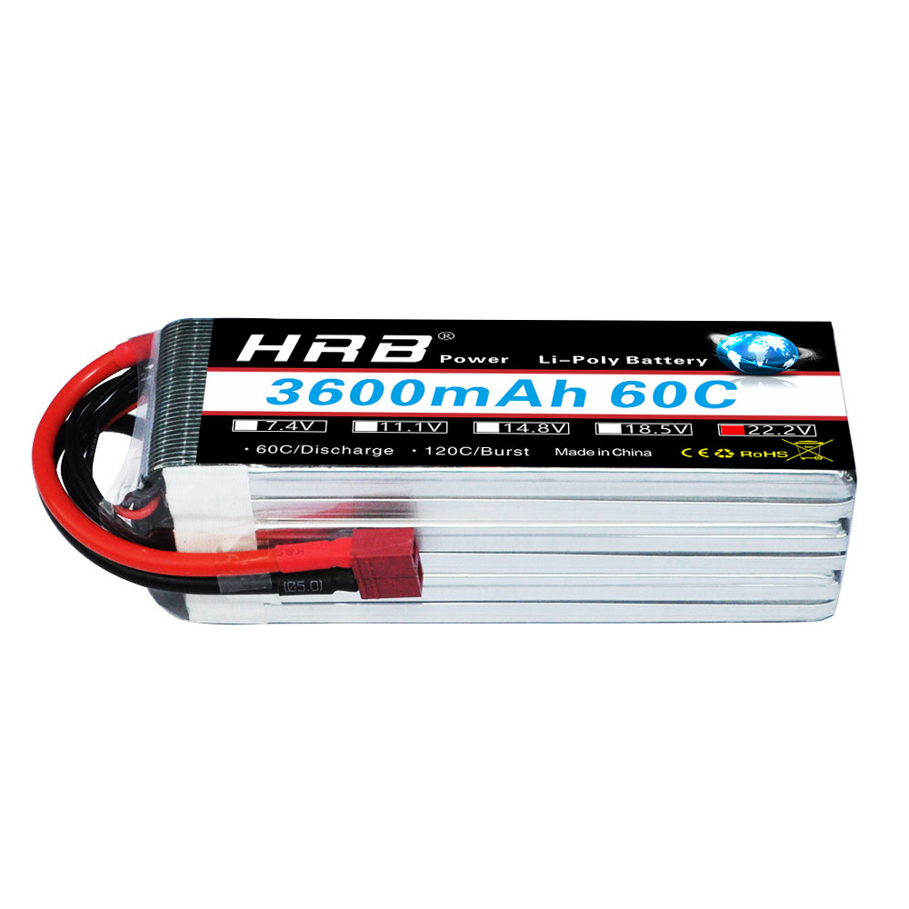 Image 5 - HRB RC Lipo Battery 3S 4S 5S 6S 3000mah 3300mah 3600mah 60C  Brust rate 120C for  trex 500 550 600E Align helicopter trex-in Parts & Accessories from Toys & Hobbies
