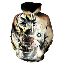 2019 Fashion Brand 3d hoodies cartoon Dragon Ball print Women/Men Hoody Streetwear casual hooded sweatshirt