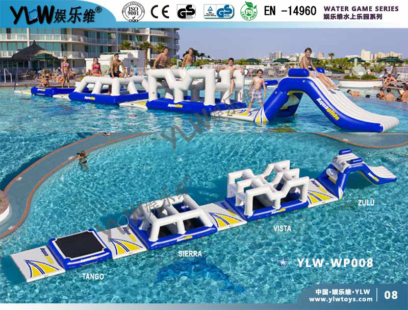 0.9mm PVC Tarpolin PLATO Water Parks,customized Made Inflatable Water Toys, Big Water Floating Parks In Water Play Equipment From Sports U0026  Entertainment On ...