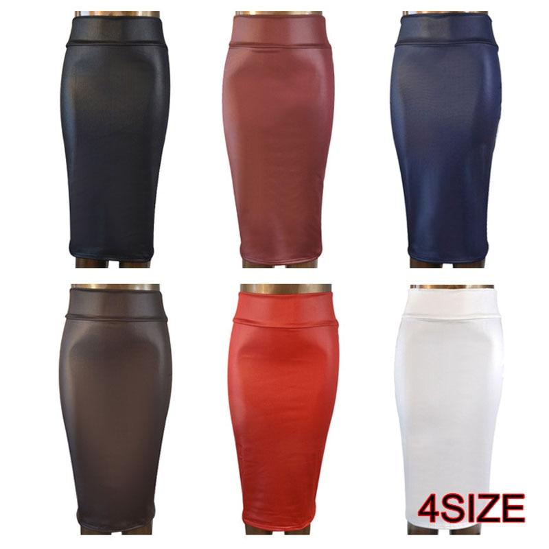 Aliexpress.com : Buy free shipping plus size high waist faux ...