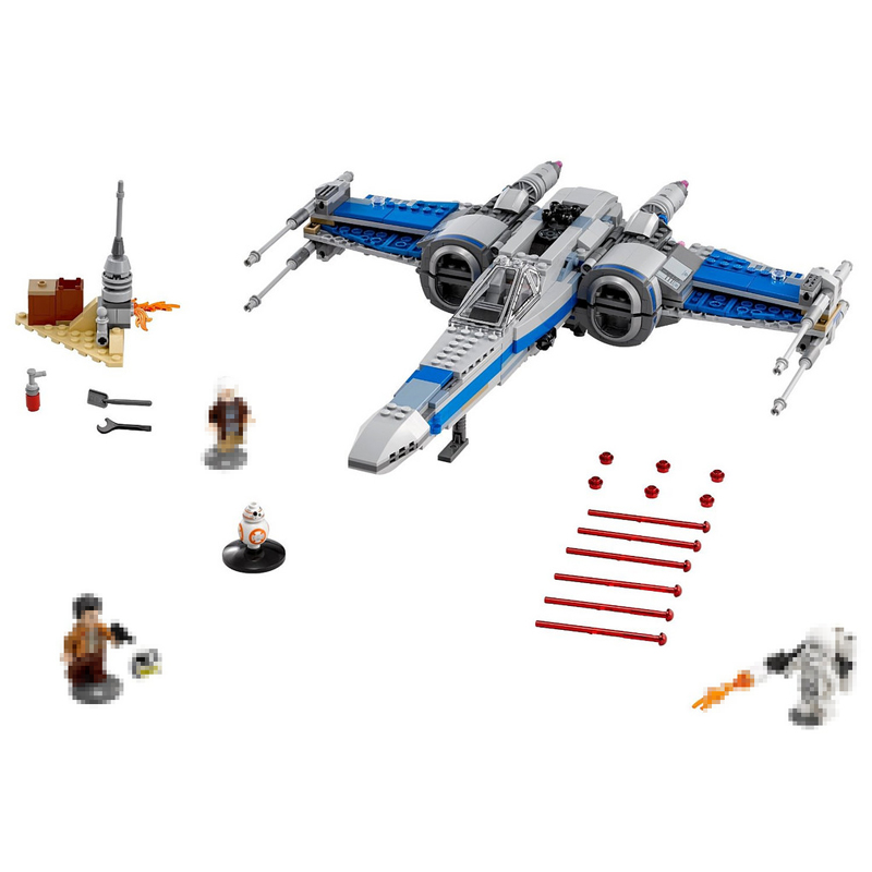 LEPIN 05029 Star Series 740PCS War The X-Wing Fighter Set Building Blocks Bricks Toys For Children New Year Gifts 75149 75102 rollercoasters the war of the worlds