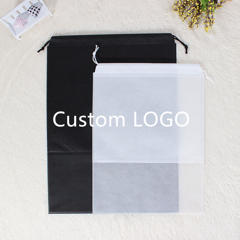Travel Portable Shoe Storage Bag Waterproof Shoes Bag Organize Tote Drawstring Bag Dolap Organizer Customizable LOGO