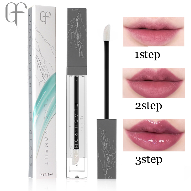 Brand fugtighedscreme Lip Gloss Transparent Lip plumper Gloss-3221