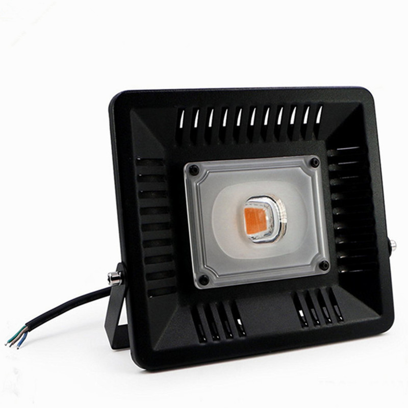 50W cob led grow floodlight IP65 Waterproof full color AL AC85-265V for plant growing ultrathin led flood light 200w ac85 265v waterproof ip65 floodlight spotlight outdoor lighting free shipping