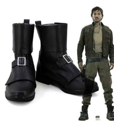 Rogue One A Star Wars Story cassien Andor Cosplay chaussures bottes Cosplay Costume accessoires pour hommes chaussures sur mesure Halloween