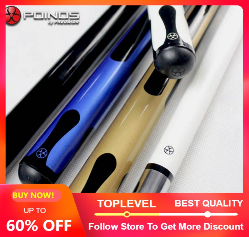 New Arrival POINOS Brand CY Billiard Pool Cue Stick Kit 11 5mm Tip Maple Handmade Professional