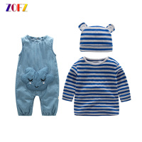 ZOFZ Baby Clothing 2Pcs Set New Fashion Clothing For Babies Cute O Neck Short Boy Set