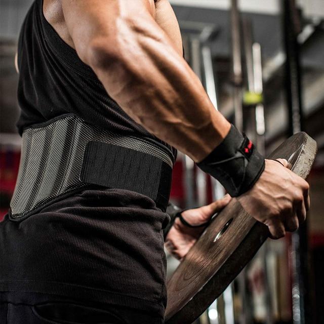 WorthWhile Gym Fitness Waist Belt for Weightlifting Accessories Slim Training Lumbar Brace Protector Bodybuilding Waist Trainer 5