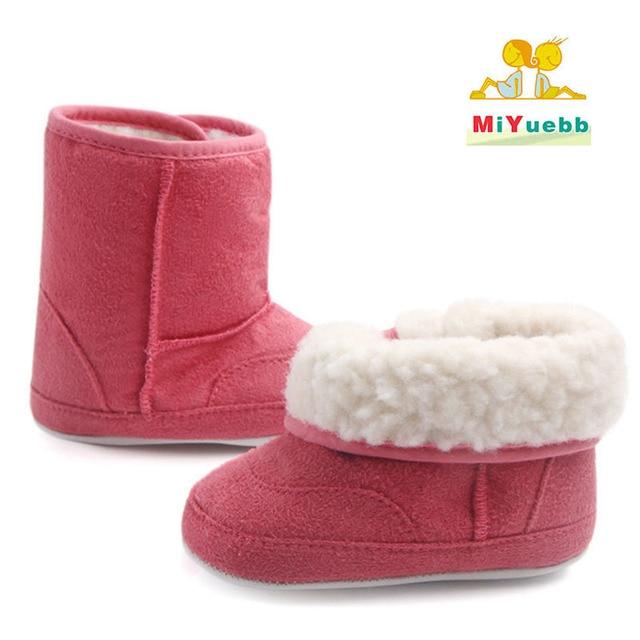Winter Warm Baby Shoes Newborn Boy Girl First Walk Baby Toddler Home