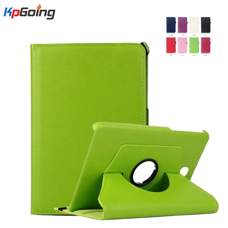PU Leather 360 Rotating Smart Cover Folio Stand Tablet Case Cover for Samsung Galaxy Tab S2 8.0Case SM-T710 /T715 360 degree rotating flip folio swivel stand smart case cover for samsung galaxy tab a 9 7 inch sm t550 tablet screen protector