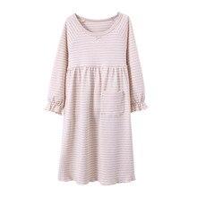 100% cotton Nightwear Girls Kids Nightgown Child Nightgown 8106