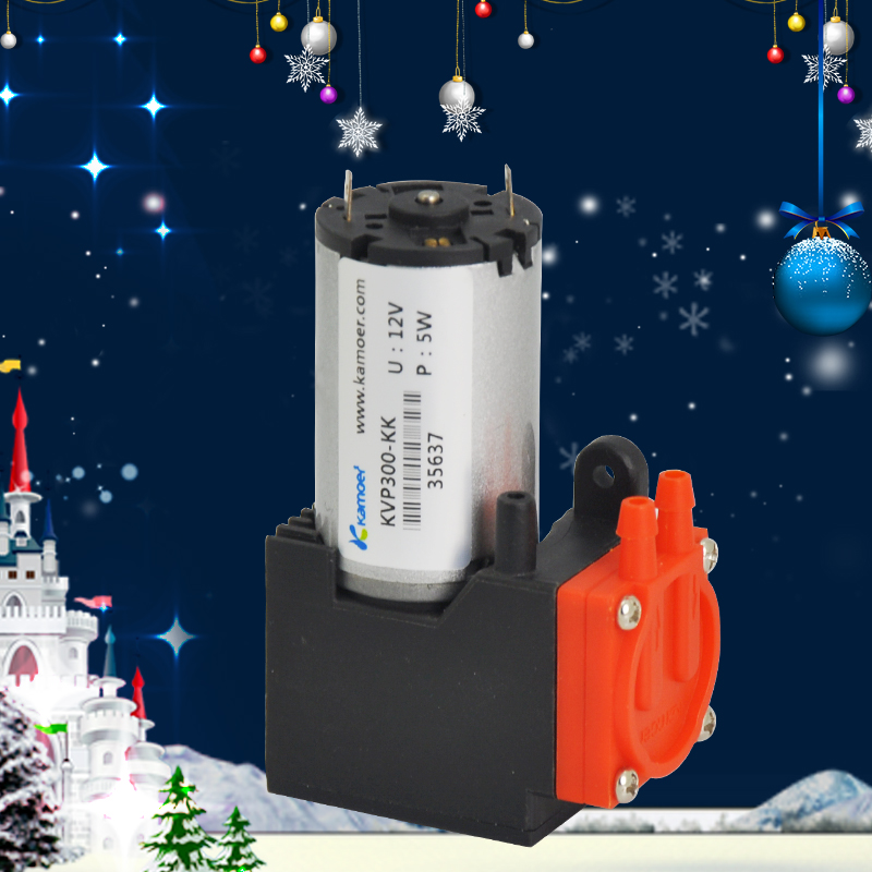 Kamoer KVP300 мини электрический воздушный щетка насоса двигателя бесщеточным Мотором 12/24 В двигателя микро-мембранный вакуумный насос