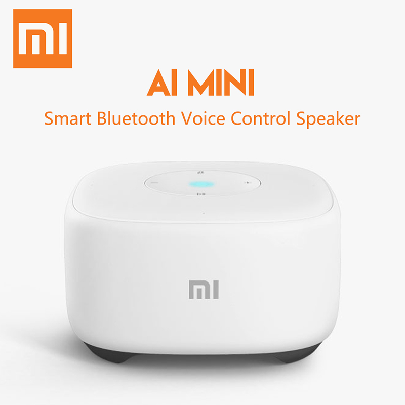 Xiomi Mini AI Speaker Smart Voice Remote Control Portable Bluetooh Speaker For Artificial Intelligent WiFi Mi Speaker for home original xiaomi mi speaker mini 2 4g wifi voice smart speaker wireless portable speaker bluetooth 4 1 with 4 mic of smart home
