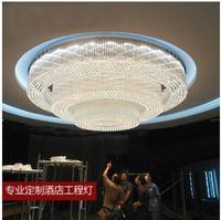 L Овальный гостиная кристалл лампы ресторан спальня светодио дный светодиодный потолочный светильник бар проход прямоугольный крыльцо Инж