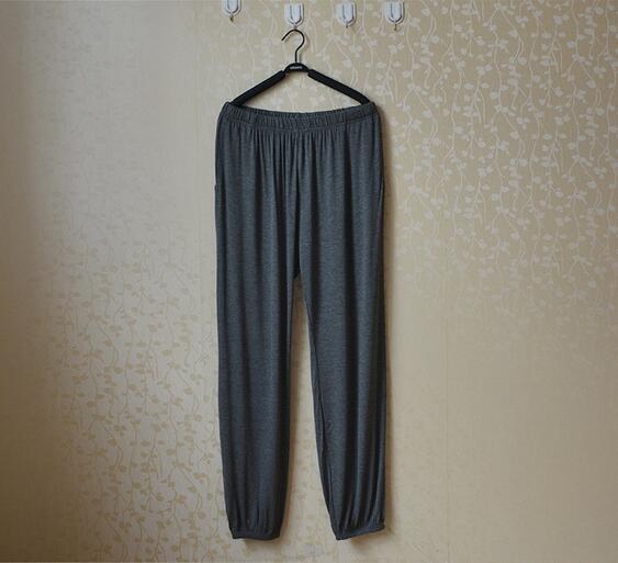 Spring Summer Women's Trousers For Home Pajama Bottoms Cotton Sleep Pants Women Pajama Trousers Black Plus Size XL-XXXL Q207 3