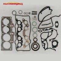customized LOGO For TOYOTA CAMRY CARINA II CARINA E 2.0 3SFE Full Set Automotive Spare Parts Engine Seal Gasket 04111 74591