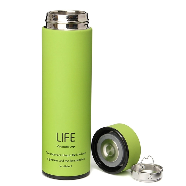 Best Price 500ml 18oz Stainless Steel Vacuum Bottle Coffee Cupthermos Travel Insulated Container Flask Cups Thermo