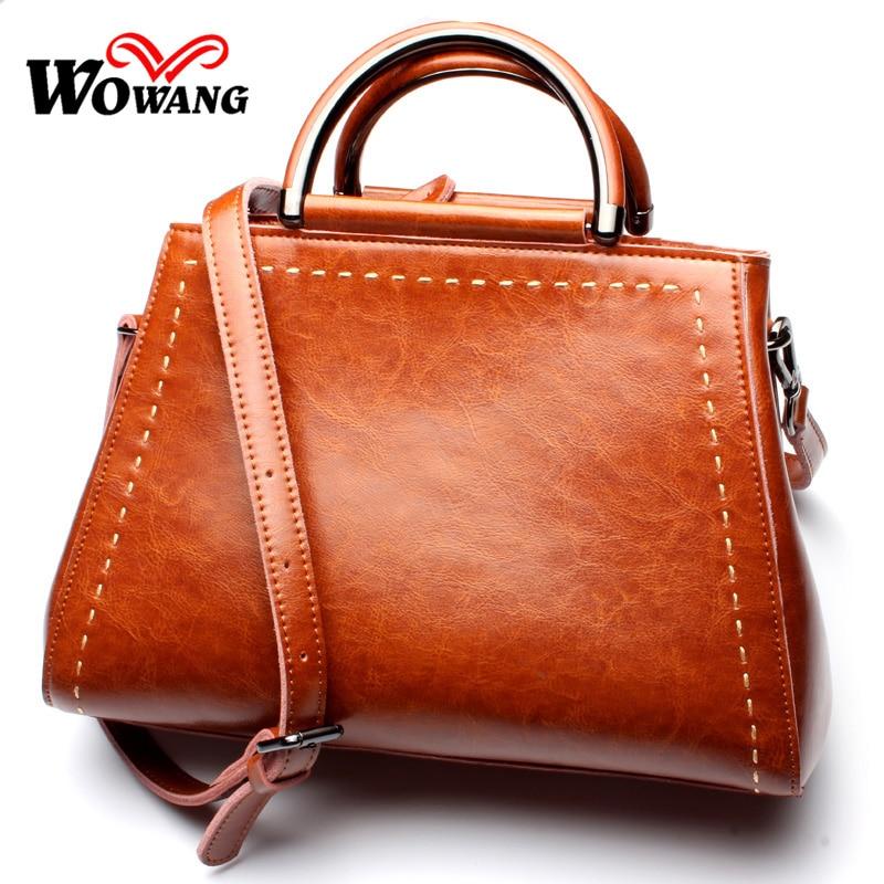 ФОТО Autumn New Genuine Leather Women Shoulder Bags Vintage women Handbags Famous Brand Designer Women Messenger Bags Tote Neverfull