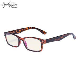 Image 4 - CG055 SpringHinges UV Protection, Anti Glare Anti Blue Rays,Scratch Resistant Lens Yellow Tinted Lenses Computer Reading Glasses