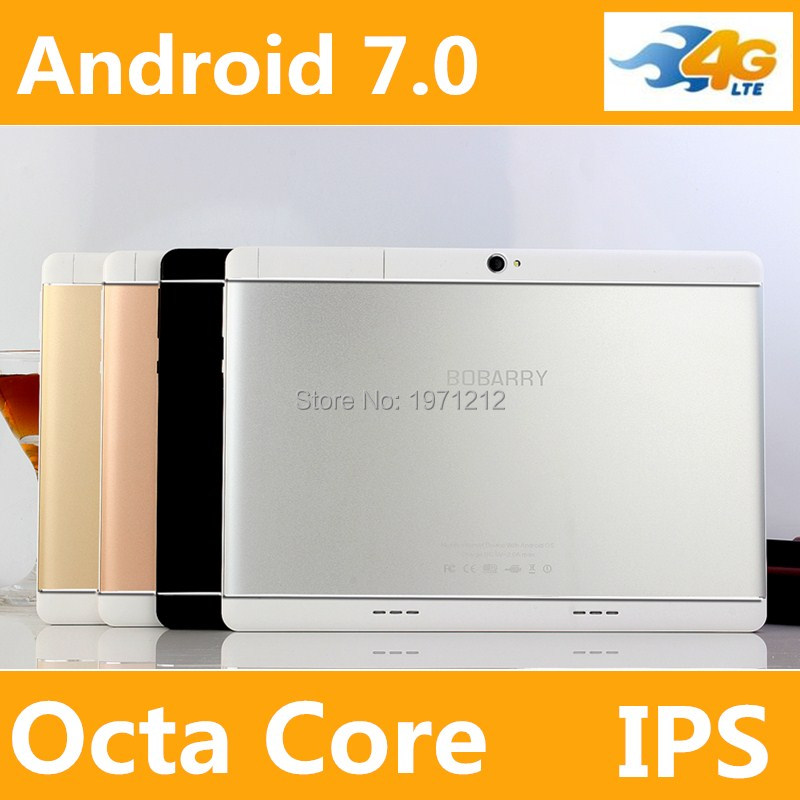 10 inch Octa Core 3G 4G phone tablet MTK8752 Android 7 4GB RAM 32GB/64GB ROM Dual SIM Bluetooth GPS 4G Tablet PC jiake v10 5 0 capacitive android 4 4 2 dual core 3g phone w 512mb ram 4gb rom dual sim black