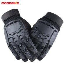 1 пара мотоциклетные перчатки для мужчин полный палец кожа весна лето Открытый Спорт Гонки путешествия носимые тактические Guantes