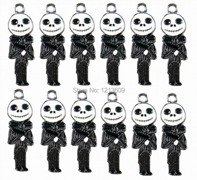 100pcslot the nightmare before christmas charms pendants jewelry making diy party favor gifts wholesale - Making Of Nightmare Before Christmas
