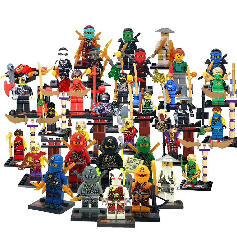 Lego Ninja Toys : Lego ninjago minifigures chinaprices