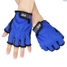 Fishing Pair Glove  Fingerless Exposed Men&Women Breathable Fishing Glove Anti Slip 3 Cut Glove Fishing Tool  Fishing Accessoes