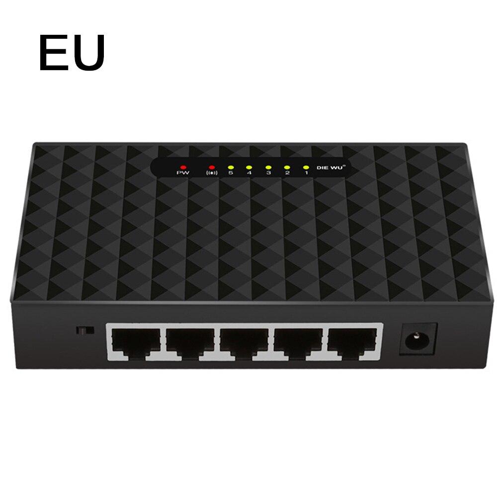 5/8 Ports Gigabit Switch Desktop RJ45 Ethernet Switch 10/100/1000mbps Lan Hub Switch