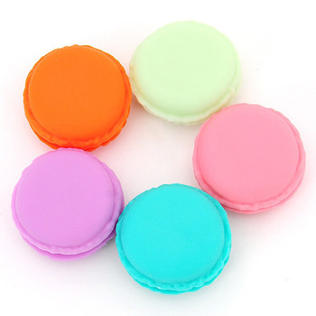 6pcs Mini Earphone SD Card Macarons Bag Storage Box Case Carrying Pouch small pills jewelry box organizing drop shipping