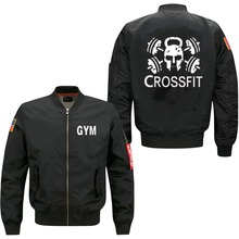 2017 new The  Fitness Tops Skull Swag spring autumn men's leisure jacket collar code Air Force pilots jacket