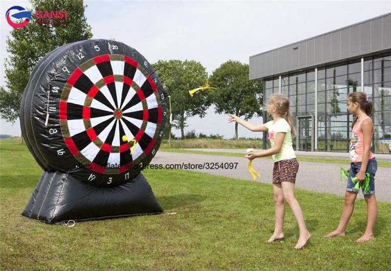 Venta al por mayor inflable pie dardos juego inflable tablero de - Deportes y aire libre - foto 2