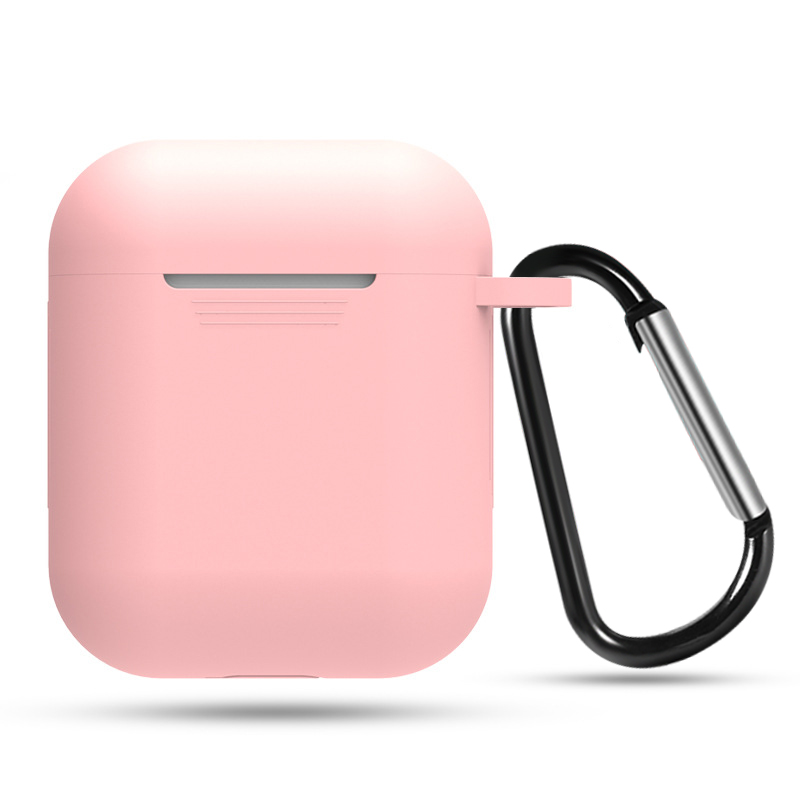 Soft Silicone Case For Apple Airpods Headphone Shockproof Cover For AirPods Earphone Accessories Ultra Thin Protector Cases