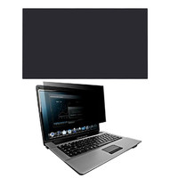 Black 12 Inch Laptop Anti Glare Privacy Filter Screen Protector Film For Widescreen 16 9 Notebook