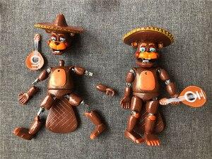 Image 5 - 6ピース/セット5夜アクションフィギュア玩具fnafボニーフォクシーfazbear置物のおもちゃ光と
