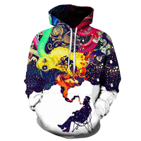 BIANYILON 2018 New Arrivals Men S Long Sleeve Autumn Winter Pullovers Funny Print Smoking Person Hoody