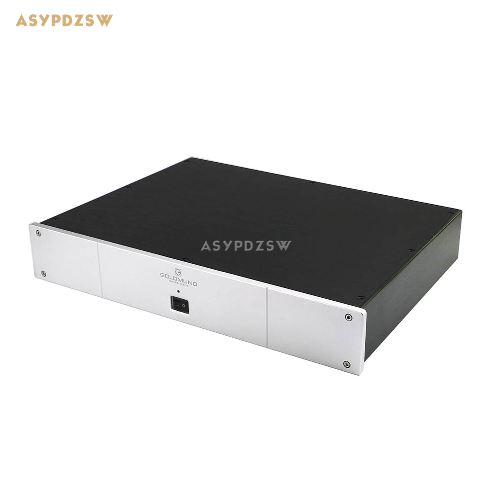 BZ4307D Full aluminum chassis Panel decoder DAC box Power amplifier case size 430*70*308MM