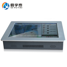 17″ touch screen Resolution 1280×1024 industrial pc with Intel D525 1.8GHz 2GB RAM 32G SSD all in one pc