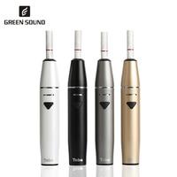 GreenSound TOBA Electronic Cigarette Kit Iqos Stick Vape Smokable Heat Not Burn Compatibility To icos sticker