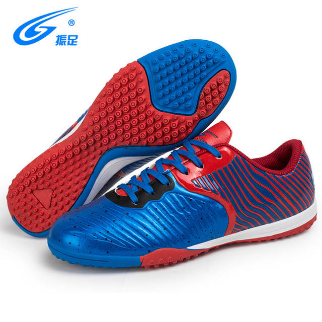 7d7a51581 placeholder Indoor Men Football Shoes Sport Street Soccer Shoes Male  Sneakers PU 3D Printing Football Boots For