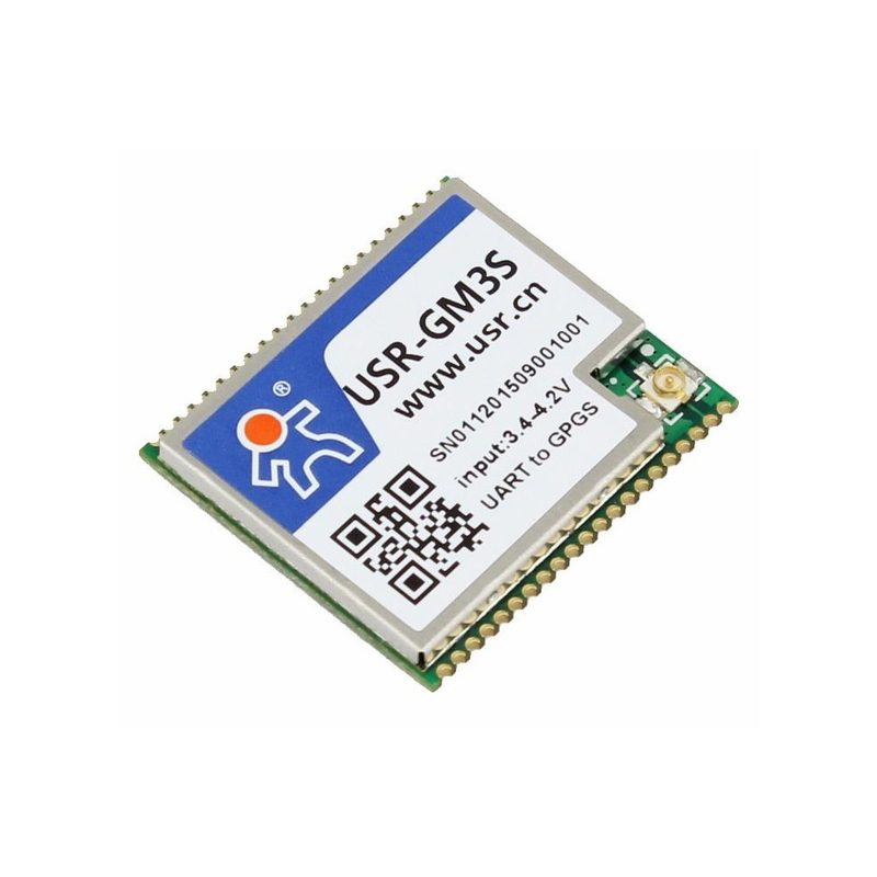USR-GM3S Free Shipping Industrial Serial GSM/GPRS Module W/Built-in SIM Card SMS Transmission W/Antenna Interface m35 gsm gprs cell phone development board module w voice interface antenna blue