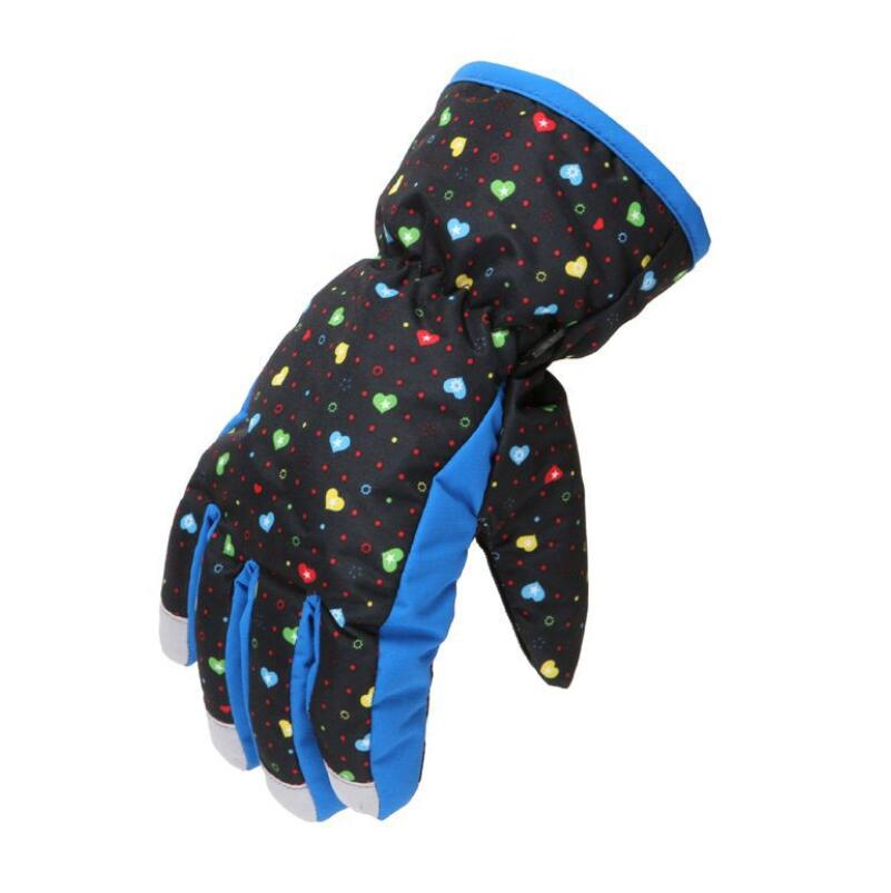 Mother & Kids Gloves & Mittens Children Glove,winter Warm Baby Girls Glove,boy Ski Outdoor Snowboard Gloves,girls Cycling Windproof Waterproof Mittens,for 4-8y Less Expensive