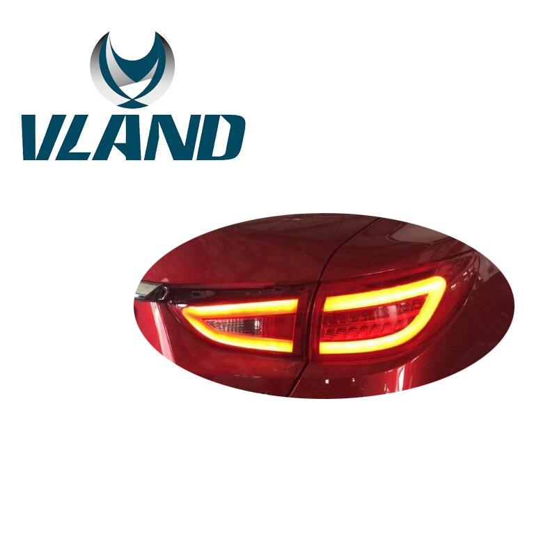 VLAND Factory pour pièce de voiture pour Atenza barre de LED feu arrière pour 2014 2015 2016 feu arrière Plug And Play Design feu arrière LED 35 W & 12 V