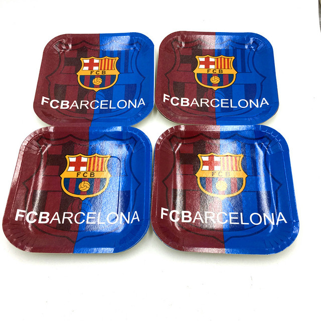 10pcs/lot football team plates kids birthday party supplies football square paper dishes square paper  sc 1 st  AliExpress.com & 10pcs/lot football team plates kids birthday party supplies football ...