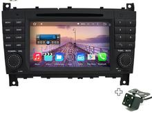 2gb ram 8 octa core android 6.0.1 for Benz C-Class W203 (2004-2007) Benz CLK W209 Car DVD Player RADIO GPS NAVI TAPE RECORDER