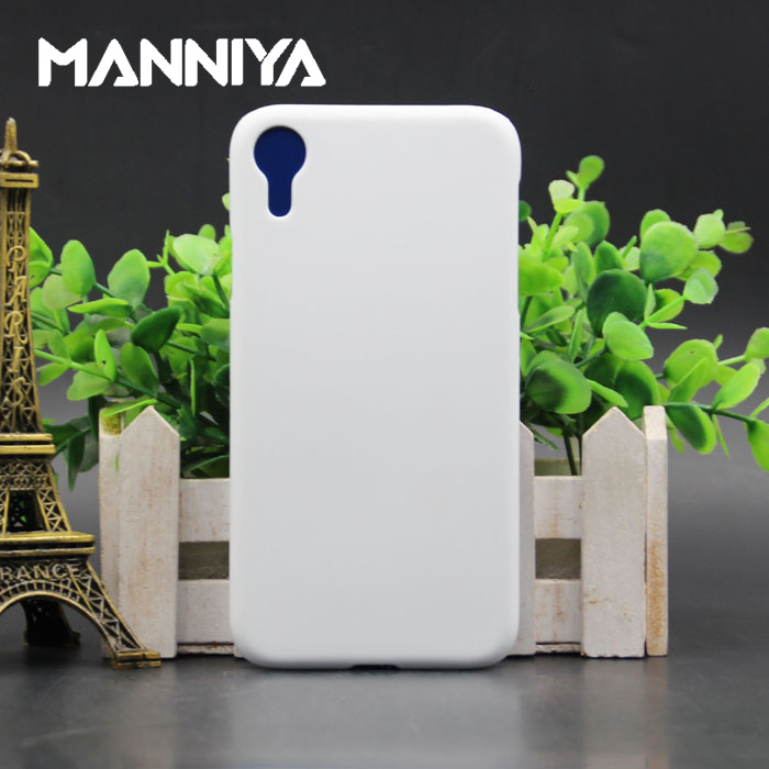 MANNIYA 3D Sublimation Blank white Phone Cases for iphone XR Free Shipping 100pcs lot