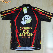 RIDE POINT Cranky Old Bastard Men Cycling Jersey Summer Quick Dry Short  Sleeve MTB Bike Sportswear Cartoon Cycling Clothes Shirt 8ff0d86d0