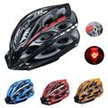Deemount велосипедный шлем со светодиодной сигнальной подсветкой для мужчин MTB дорожный велосипед Интегрально литой шлем EPS casco ciclismo